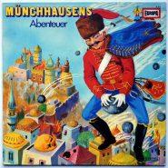 Gottfried August Bürger Münchhausens Abenteuer Hörspiel EUROPA LP