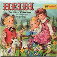 Johanna Spyri – Heidi Teil 2: Ferien... Ferien... Auditon Hörspiel LP MINT