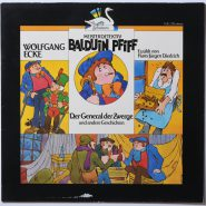 Wolfgang Ecke – Meisterdetektiv Balduin Pfiff Maritim Hörspiel LP MINT