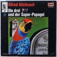 Robert Arthur – Die Drei ??? 1 - Und Der Super-Papagei Europa drei LP