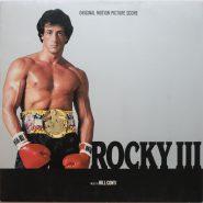 Bill Conti – Rocky III 1982 Soundtrack Vinyl Score NM
