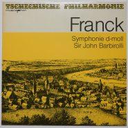 Franck / Barbiroll - Symphonie d-Moll Bärenreiter Musicaphon Vinyl NM