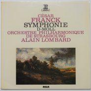 Franck / Lombard - Symphonie D-Moll RCA Vinyl NM LP