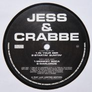 "Jess & Crabbe ‎– Tribute Series Vol.2 12"" Vinyl Fiat Lux"
