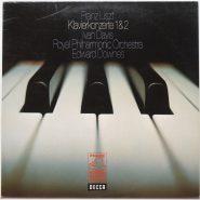 Liszt / Davis - Klavierkonzerte 1 & 2 DECCA LP EX Vinyl
