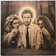 Pete Townshend ‎– Empty Glass LP europa 1980 7€