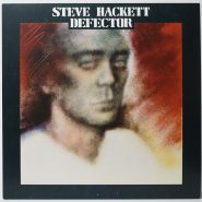 Steve Hackett ‎– Defector Vinyl NM Poster Charisma