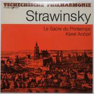 Strawinsky Le Sacre du Printemps Bärenreiter Musicaphon NM Vinyl