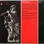 Telemann - Konzert für Violine Bärenreiter Musicaphon LP NM