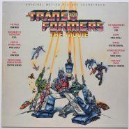 The Transformers The Movie Picture Soundtrack Vinyl Scotti Bros.