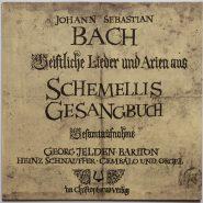 Bach / Jelden Schnauffer - Schemellis Gesangbuch Christophorus Verlag