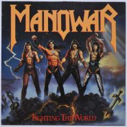 Manowar – Fighting The World Heavy Metal 1987 ATCO