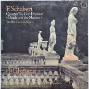 Schubert / M.K. Ciurlionis Quartet - Death and the Maiden Мелодия USSR
