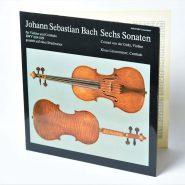 Bach / Goltz / Linsenmeyer - Sechs Sonaten für Violine & Cembalo