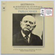 Beethoven / Casals - Klaviertrios Nr. 1 ES-Dur CBS 61 759 Germany