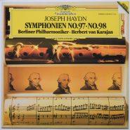 Haydn / Karajan Symphonien No. 97 / No. 98 Deutsche Grammophon