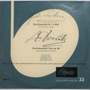 Dvorak / Smetana - Streichquartett DROLC QUARTET VG++/VG++