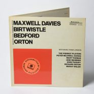 Davies, Birtwistle Bedford, Orton – New Music From London US Vinyl