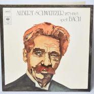 Albert Schweitzer spielt Bach auf der Orgel zu Günsbach CBS 78 256