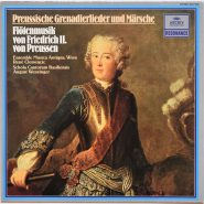 Flötenmusik von Friedrich II. von Preussen - Archiv Produktion 2547 055