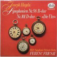 Haydn / Fricsay - Symphonie Nr. 98, 101 - Die Uhr Heliodor 2548 111 LP