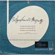 Mozart / Barchet Quartett - Streichquartett KV 158, 159, 160 Opera 2750