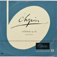 Chopin / Novaes - 24 Preludes op. 28 Opera XP 2150 Germany