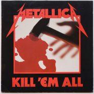 Metallica - Kill 'Em All Speed Metal 1989 Vertigo