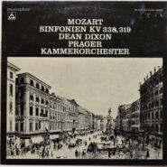 Mozart / Dixon - Sinfonien KV 338, 319 - Musicaphon BM SL 1706