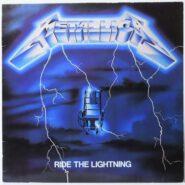 Metallica - Ride The Lightning - Speed Metal Roadrunner 9848