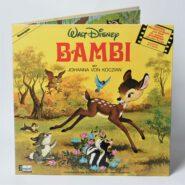 Walt Disney – Bambi Disneyland Hörspiel LP NM/NM