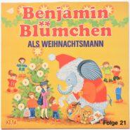 Benjamin Blümchen Als Weihnachtsmann Nr. 21 Kiosk 1982 Vinyl NM/EX
