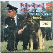 Harry Benze - Polizeihund Ajax [Folge 2] - Hörspiel Schallplatte POLY