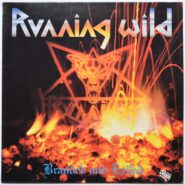 Running Wild - Branded And Exiled - Noise Germany 1985 OIS