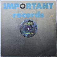 Plank – Attitude EP - Important Records IMP 010 ACID