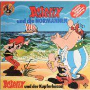 Asterix Die Normannen Der Kupferkessel Telefunken Hörspiel LP 1975
