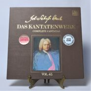 Johann Sebastian Bach Das Kantatenwerk Vol. 45 TELDEC 244 194-1 EX